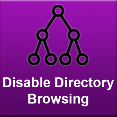 Disable Directory Browsing